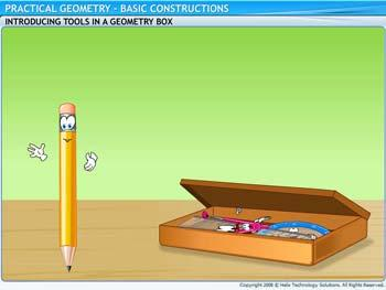 Animated video Lecture for Basic Constructions