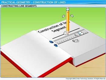 Animated video Lecture for Construction of Lines