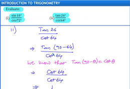 Trigonometry Exercise-8.2 Q1