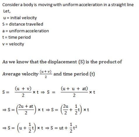 Derivation of equations of motion