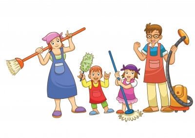 Teach kids house chores the fun way