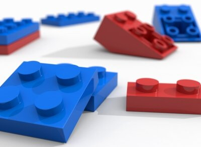 How to use legos while teaching math