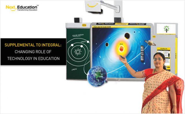 Supplemental to Integral – Changing role of technology in education