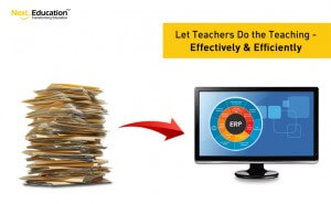 Let teachers do the teaching – effectively and efficiently