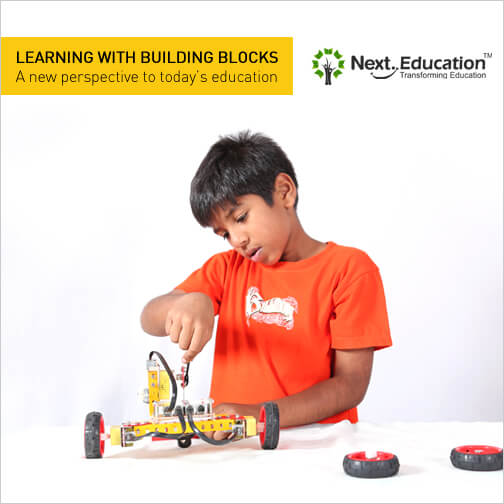 Learning with building blocks A new perspective to today's education