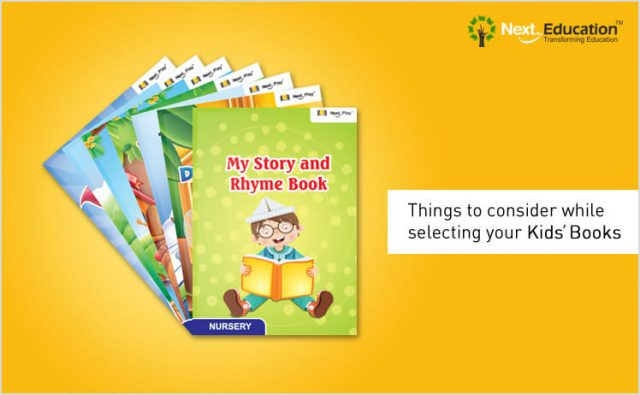 Things to consider while selecting your kids' books