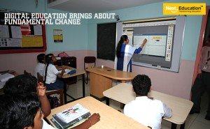 Digital education brought a fundamental change to the teaching-learning process
