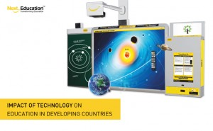 Impact of technology on education in developing countries