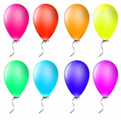 Color & balloon game