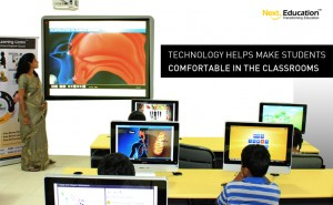 Technology helps make students comfortable in classrooms