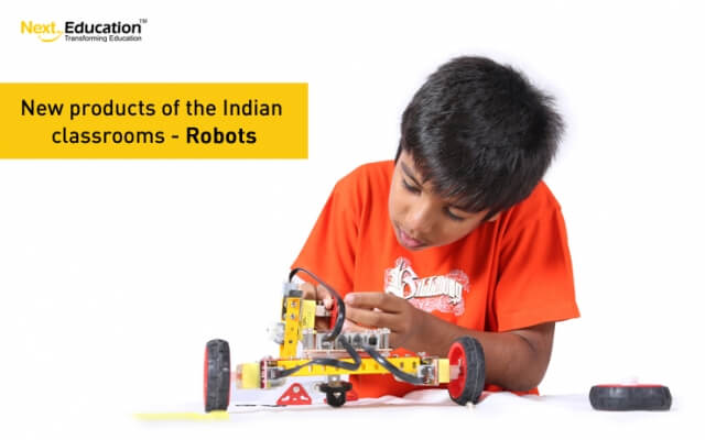 New products of the Indian classroom – Robots