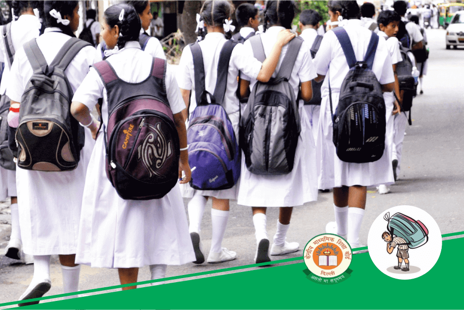 HRD Ministry Decides to Reduce Burden of Bags on Students' Shoulders
