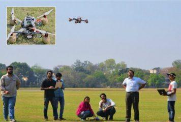 IIT Kharagpur Designs Superpower Drone BHIM
