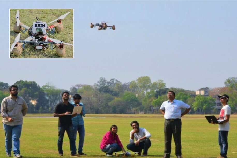 IIT Kharagpur Designs Superpower Drone BHIM