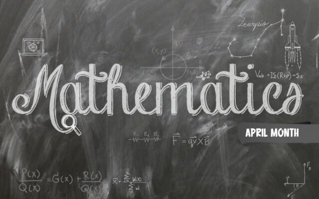 Mathematics Awareness Month: A Month-long Celebration of Maths