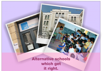 What makes these Four Alternative Schools really Alternative