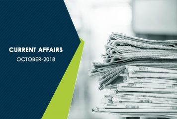 World : Current Affairs – October 2018