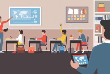 Upgrading the Smart Classroom with Digital Assistants