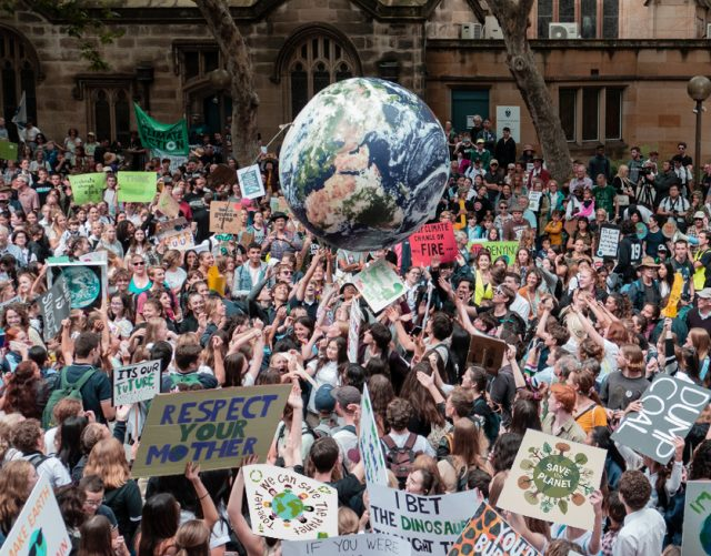Students from all over the world skipped school to demand tough action on climate change