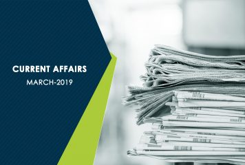Current Affairs – March 2019