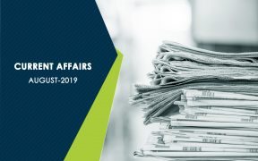 Current Affairs-- August 2019