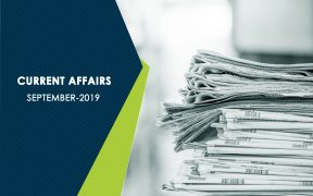 CURRENT AFFAIRS September 2019