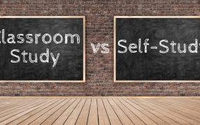 classroom study v self study